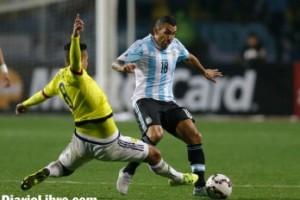 Argentina resolvió a Colombia en penales