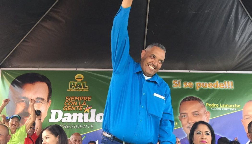 PAL proclama candidato Alcalde Pedro Lamarche
