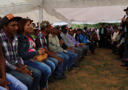 El Presidente anuncia reforestación de las cuencas de la presa Sabana Yegua