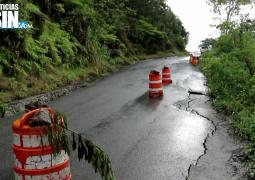 Carretera Casabito – Constanza a punto de colapsar por las lluvias