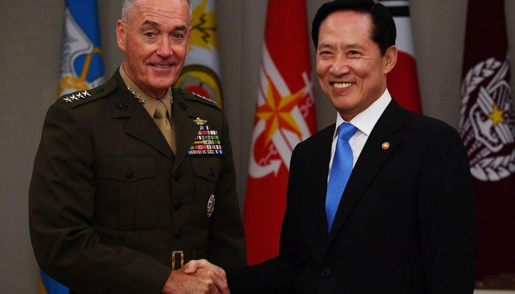 Líderes militares estadounidenses llegan a Corea del Sur en medio de tensiones con Corea del Norte