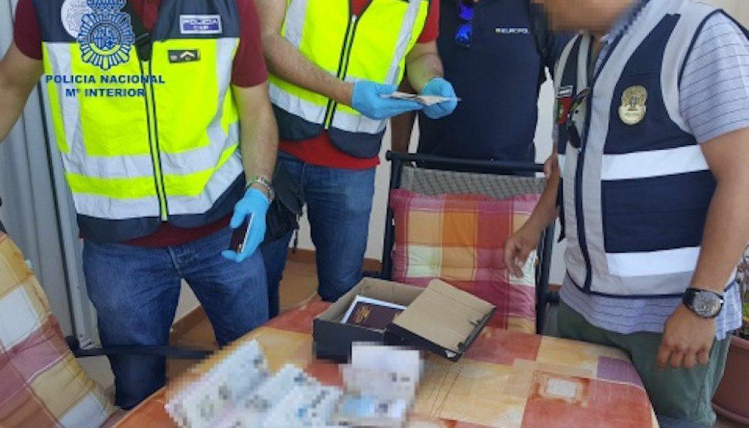 101 detenidos en Europa en una operación contra una red de tráfico de personas