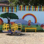 Inauguran parque infantil con patrocinio de Refidomsa