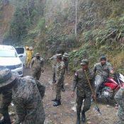 Incendio forestal afecta zona de Pinar Parejo en Valle Nuevo