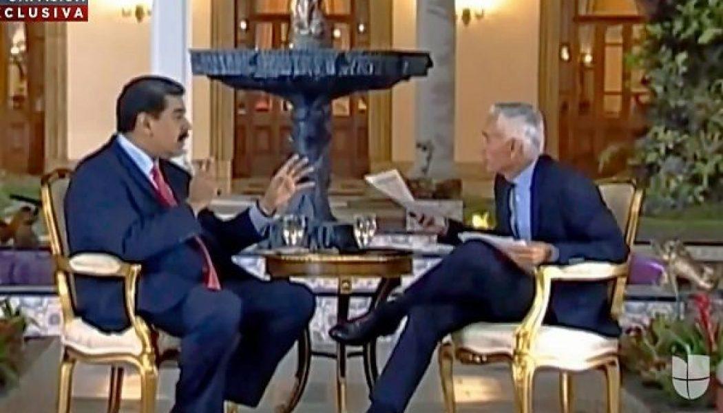 La difusión de la entrevista que censuró Nicolás Maduro a Univisión fue una traición de alguien de su círculo