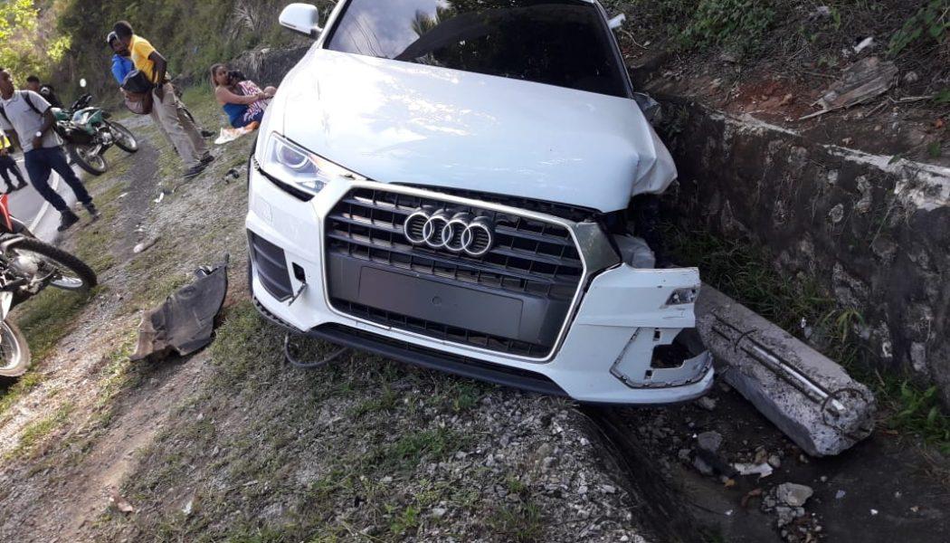 Cuatro heridos en accidente de tránsito en Samaná