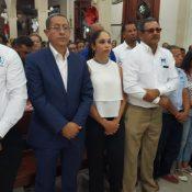 Iglesia católica celebró en Jarabacoa patronales del Carmen con una eucaristía, instituciones apadrinan