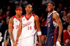 Sorpresa: ¡ Kobe y Carmelo! en el equipo estrella de la década en la NBA