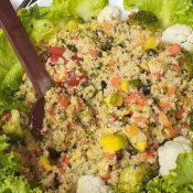 Frescura de Constanza en una feria de ensaladas