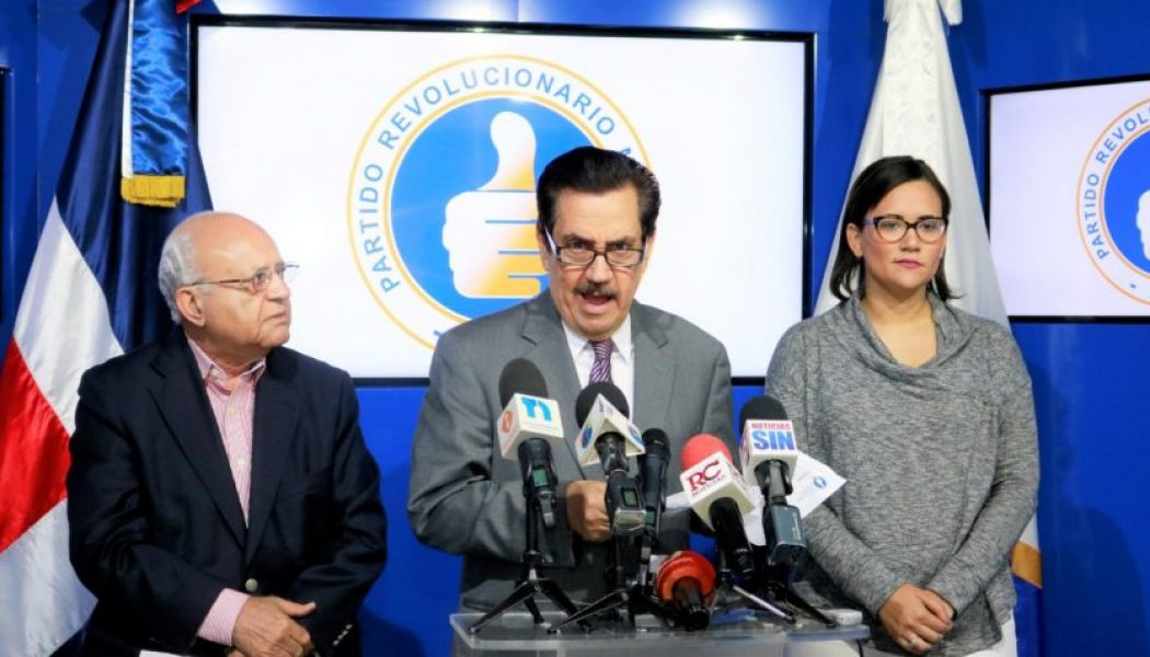 El PRM condena que Medina se coloque al frente de la campaña proselitista del PLD