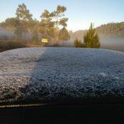 En Constanza y Valle Nuevo continúan las bajas temperaturas