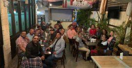 Cena compartir navideño Asociación de Locutores de Constanza