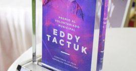Celebran 4ta edición Premio Al Voluntariado Municipal Don Eddy Tactuk