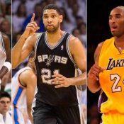 Bryant, Duncan y Garnett encabezan nominaciones al Salón de la Fama de la NBA