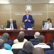 JCE presenta calendario actualizado para comicios municipales de febrero