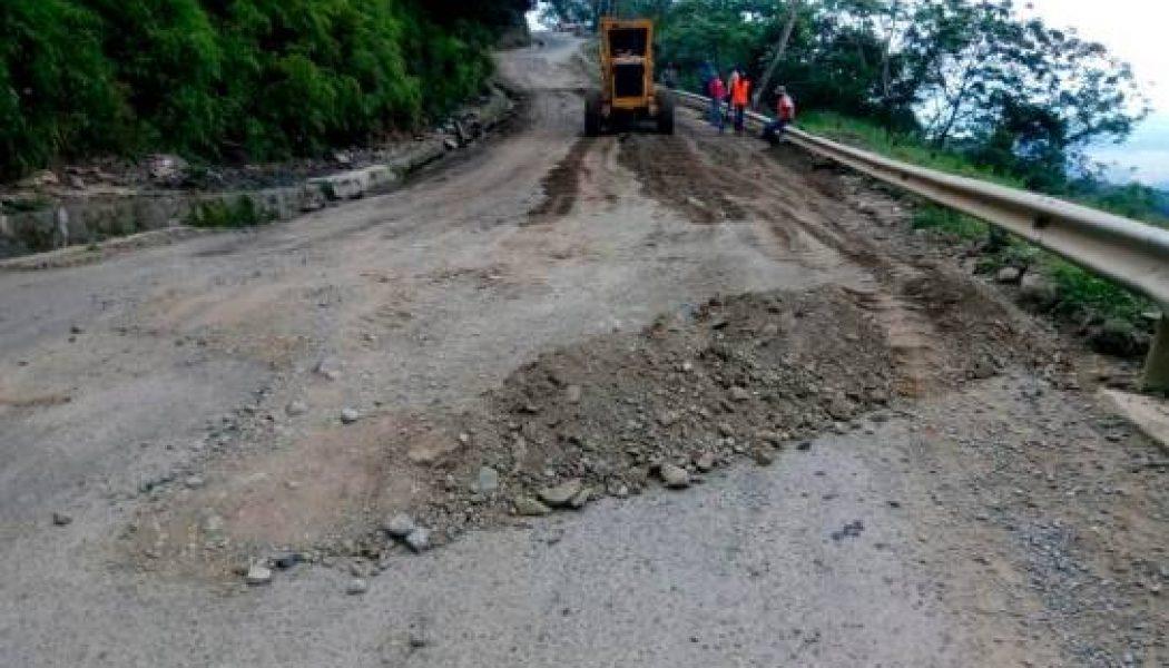 Intervienen carretera Casabito-Constanza
