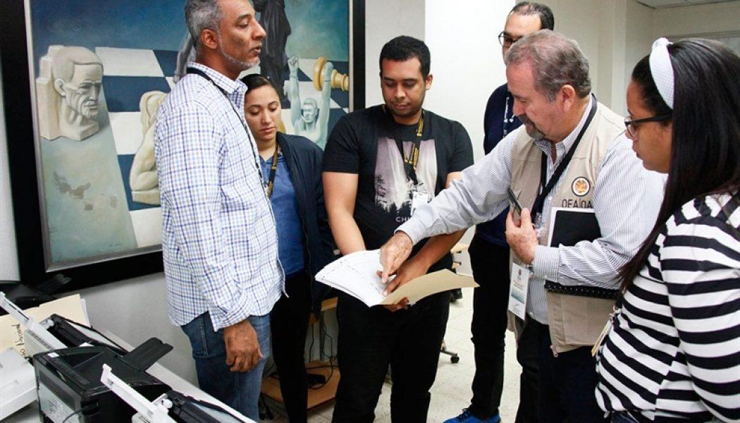 JCE realiza prueba focalizada de escáneres que se utilizarán en elecciones extraordinarias municipales