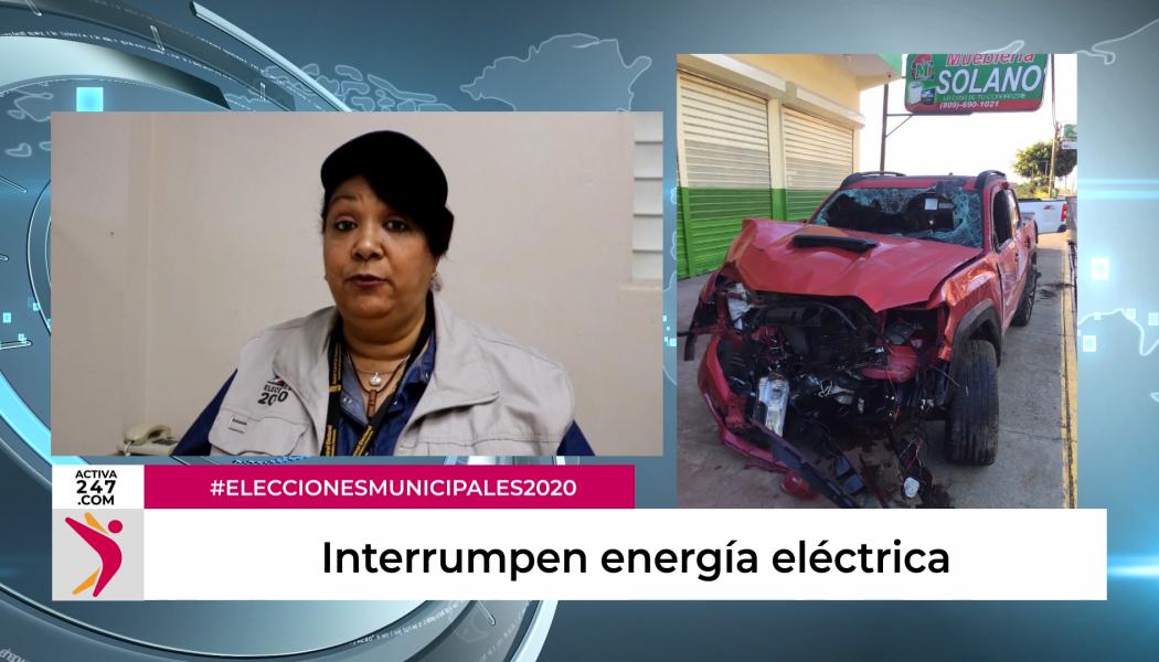 Interrumpen energía eléctrica para reparar avería