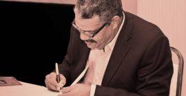 Ministro de Cultura se une al dolor del sector literario por la muerte de René Rodríguez Soriano