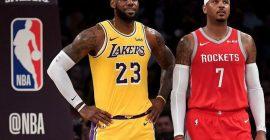 Carmelo Anthony está cansado de las comparaciones entre Michael Jordan y LeBron James