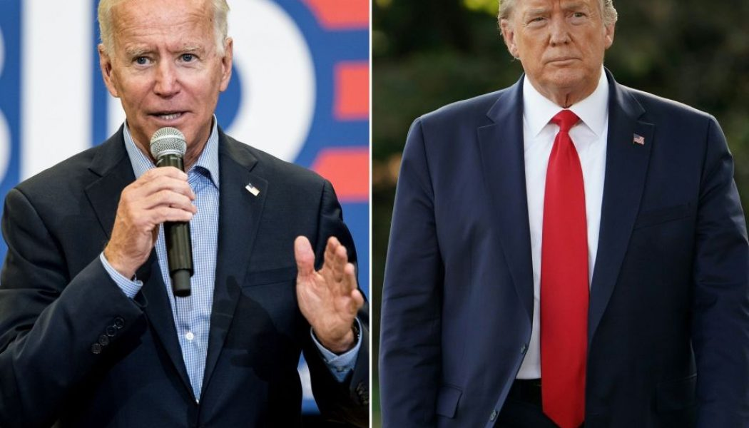 Trump desciende en la aprobación del público mientras Biden continúa subiendo