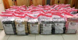 DNCD ocupa 253 paquetes cocaína o heroína en Puerto Multimodal Caucedo