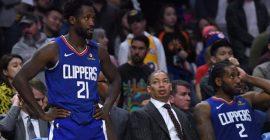 Patrick Beverley no participó en la práctica con los Clippers y es baja la probabilidad de juegue ante los Lakers