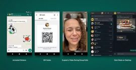 WhatsApp tendrá stickers animados y se podrán añadir contactos con códigos QR