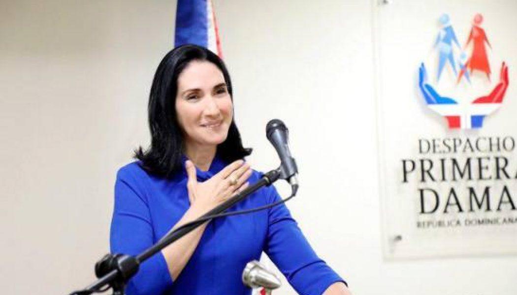 Raquel Arbaje asume el Despacho de la Primera Dama