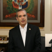 El presidente Luis Abinader habló al país al cumplir un mes de su gobierno