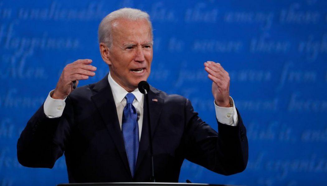 El curioso comercial de TV en el que Biden invita a silenciar a Trump