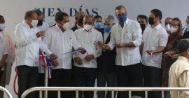 Presidente Luis Abinader entrega un centro de diagnóstico en Navarrete